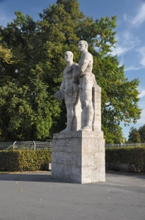 A statue of Youth and Virility (I think)